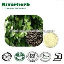 Fabricación gmp 98% natural la piperina