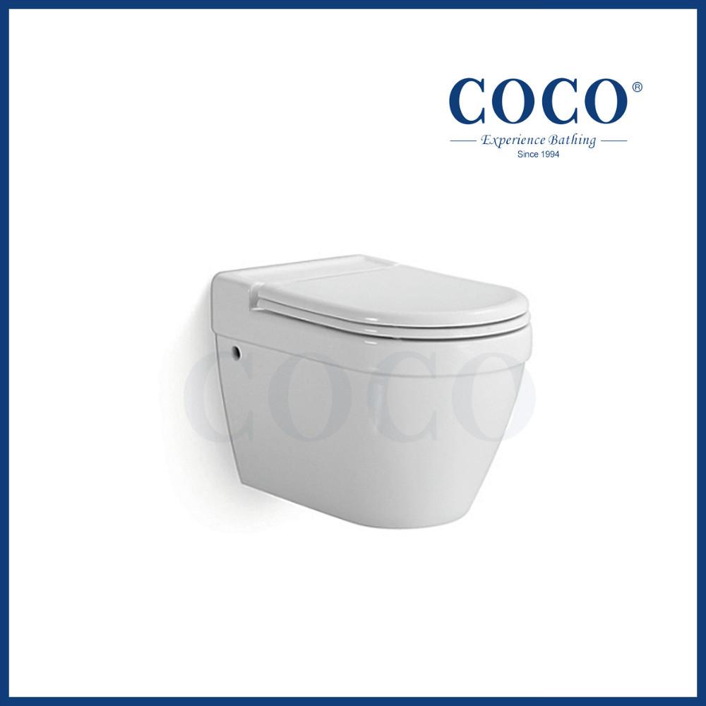 Chaozhou sanitary ware bathroom ceramic wall mounted for Bathroom ware
