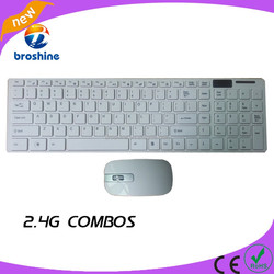 cheap wireless keyboard and mouse rechargeable mini wireless flexible keyboard and mouse combo for ipad
