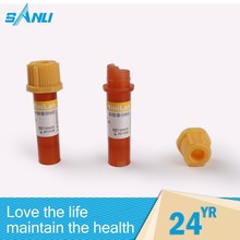 various medical machine disposable PET vacuum blood collection tube