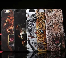 Great design animal PC hard case for iPhone6 dog elephant tiger case