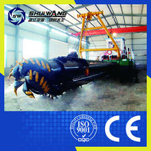Cutter suction dredger FROM qingzhou QINGZHOU FACTORY