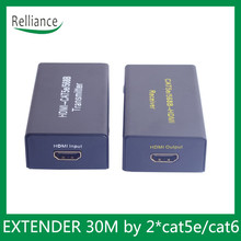 30M HD Extender By CAT5e/CAT6 Supports 3D