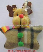 2013 xmas gifts/non-woven christmas deer/ xmas decoration