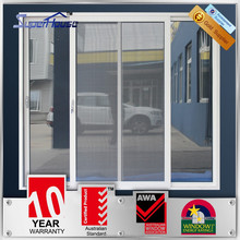 Elegant designed AS2047 standard 2 panel sliding door with Lisec glass