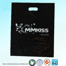 China wholesale OEM Die Cut Plastic Carrier Bag for clothes packaging