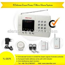 Holiday picnic barbecue wild security alarm system for resell online rc YL-007K