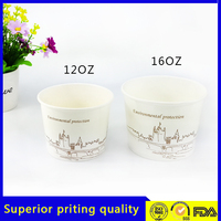 Eco-Friendly Hot Selling Disposable Paper Bowl For Soup