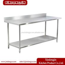 WTC-082B kitchen work table, kitchen utility table, compact kitchen table