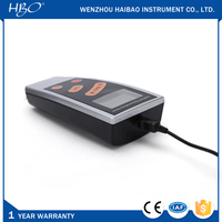 Nonmagnetic coating thickness gauge for nonferrous metals substrate of Copper, Aluminum, Zinc, Tin, and so on
