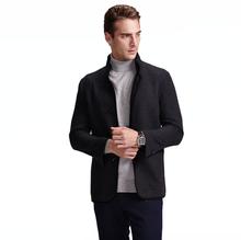 best quality hot sale wool outerwear mens cheap cashmere short coat