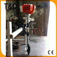 manufacturer in hangzhou city CE ISO9001-2008 certification 2.5 HP 2 stroke air cooled outboard boat motor