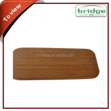 2015 Olive Wood Cutting Board, Square Shaped, Rubber Wood