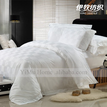New design hot sale 100% cotton Five star luxury hotel high quality bed sheet