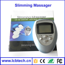 2015 New price Electronic Slimming Massager for body with 4 pdas (pads can be exchanged)