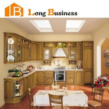LB-DD1001 American Style Solid Wood Kitchen Cabinet