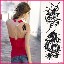 Hot sales fashion products custom body art tattoos water transfer paper temporary self adhesive tattoo stencils designs