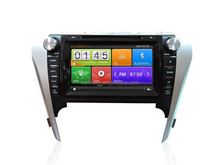 1080P HD video display car dvd player with radio/gps navigation for Toyota Camry 2012