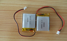 Rechargeable lipo battery pack 3.7V 1000mah li-ion battery