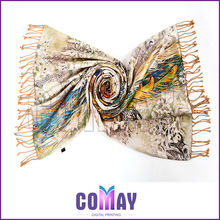 Lightweight Spring 2014 Hot sale white silk scarves for dyeing