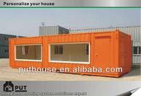 prebuilt foldable cargo container shop