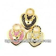 Wonderful heart jewelry usb flash drive