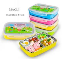 Coloful Cartoon Children's Lunch Box