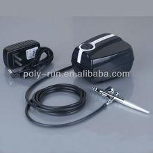 Portable Airbrush Compressor kit for tattoo, cake,nail