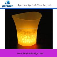 China Custom Led Lighted Ice Bucket Table, Beer Ice Bucket