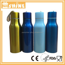 Insulated Water Bottle, 18/8 Stainless Steel & Powder Coated