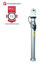 5m CCTV Camera pole Pneumatic Vehicle Mounted Military Locking Telescopic Mast