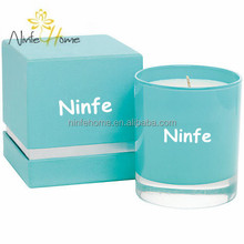 2014 Newest Brand Wax Candle/ Scented Candle in Glass Jar/ OEM brand scented candle