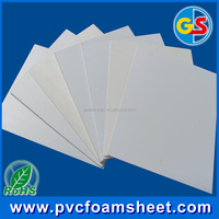 1220*2440mm 4x8 PVC Plastic celuka Sheet with different color/high denisty PVC forex sheet