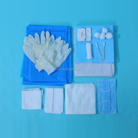 Disposable Sterile Child-Birth Emergency Kit for Childbirth Surgery