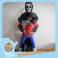 Inflatable Halloween Ghost Killer Costumes MOQ 50pcs