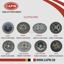 Wholesale Price Toyota Clutch Disc / Clutch Plate for Camry/Prado/Corolla/Hilux/Land Cruiser Car Spare Parts