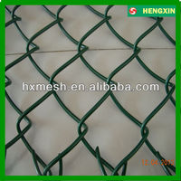 Chain Link fence Plastic Coated Mesh Fence Roll