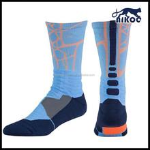 breathable sock for men/sport socks for basketball