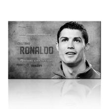 Soccer Star Wall Art For Boy Room/Football Star Canvas Poster/Modern Canvas Art