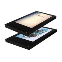 26 Inch Wall-mounted LCD Transparent Advertising Display