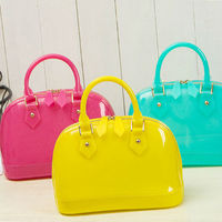 CD022 Summer colorful brand name sillicone cheap handbags from china