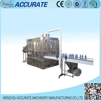 Automatic aqua drinking water filling production plant