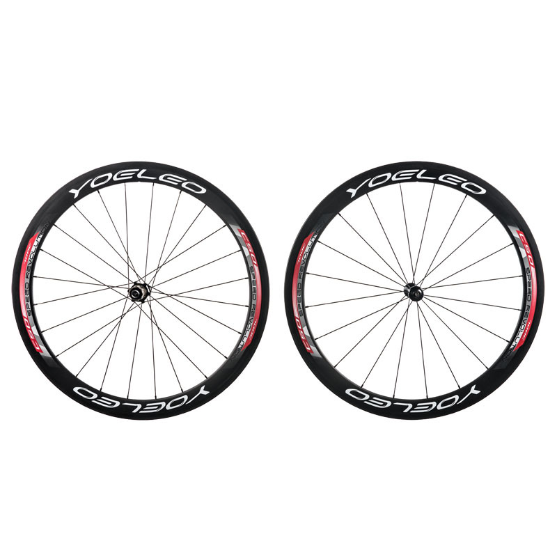 Carbon Wheels Clincher 50mm With U Shape, Sapim CX Ray Spokes, Ceramic Bearing Hubs