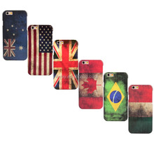 2015 BR MX CA AU US UK Flag Hard Case cover for iphone 6