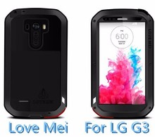 Original brand Love Mei aluminum phone case for LG G3