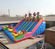 CE 1000 ft slip n slide inflatable slide the city