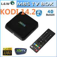 M8 M8s M8C Amlogic S812 Full HD Media Player 1080p Full loaded Android TV Box Quad Core box