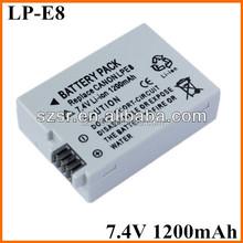 For Canon digital camera battery LP-E8 Alibaba store