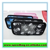 Black fashion pencil case sublimation pencil case