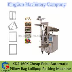 KDS 160X Cheap Price Automatic Pillow Bag Lollipop Packing Machine